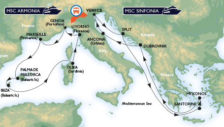 Grand Mediterranean Cruises